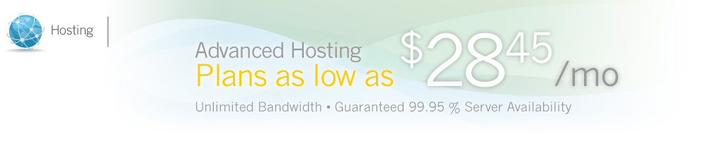 tSpark Advanced Hosting - $28.45/mo.